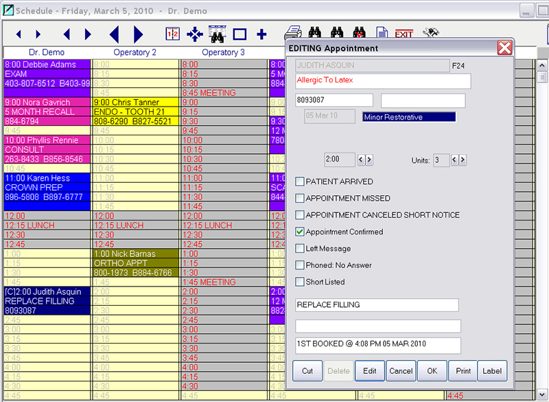 dental office software features gold dental edmonton alberta